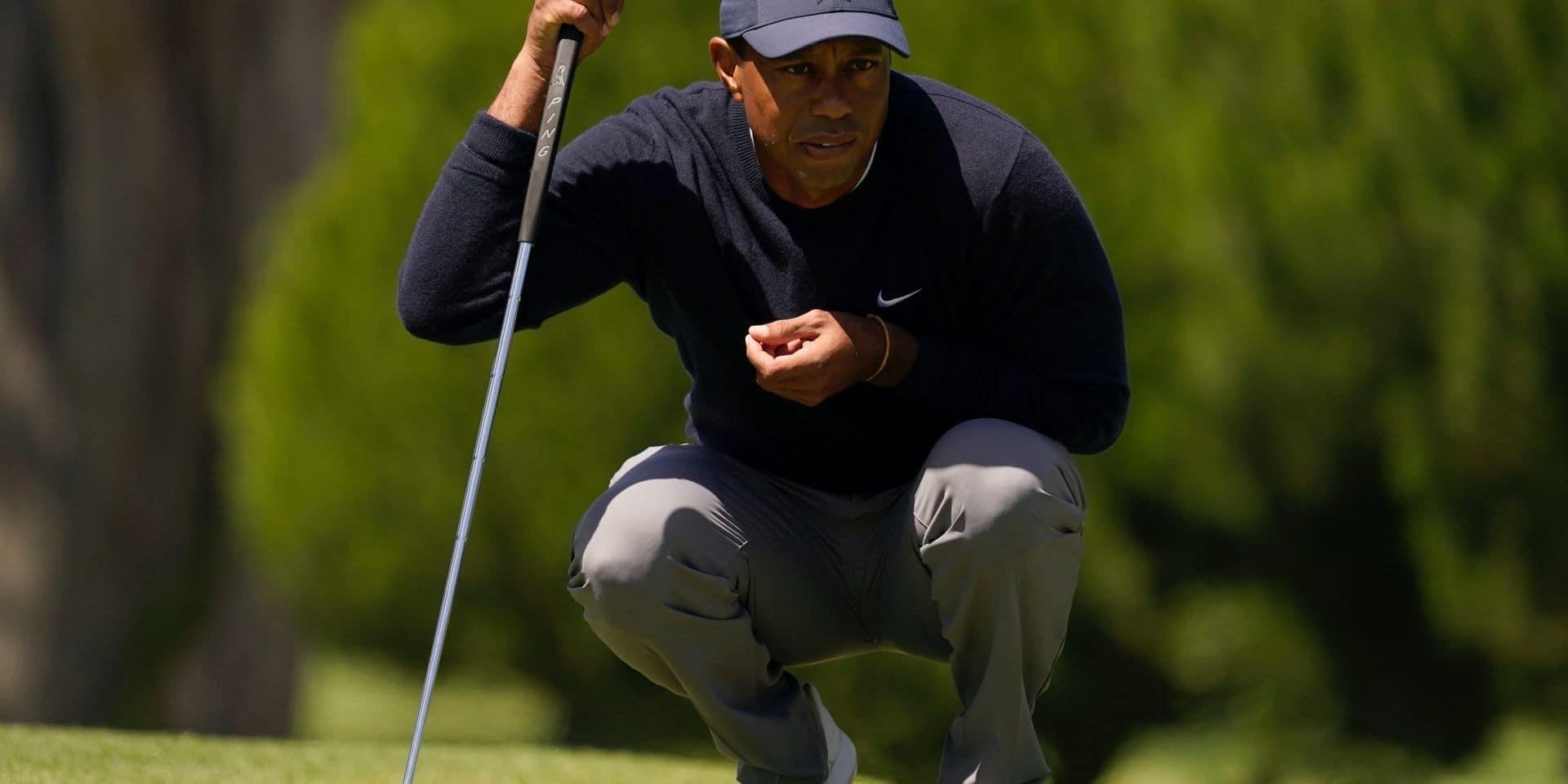 Tiger Woods reprend du service