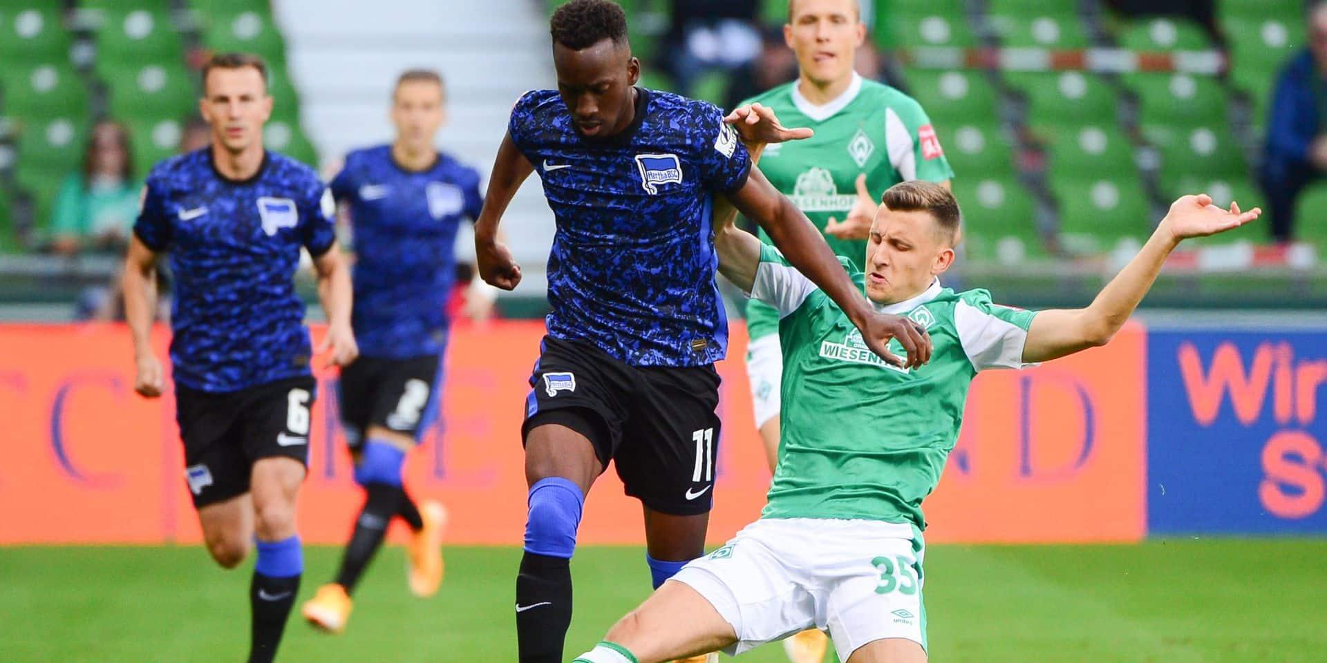 Dodi Lukebakio ouvre son compteur buts dès la première journée avec le Hertha Berlin (VIDEO)