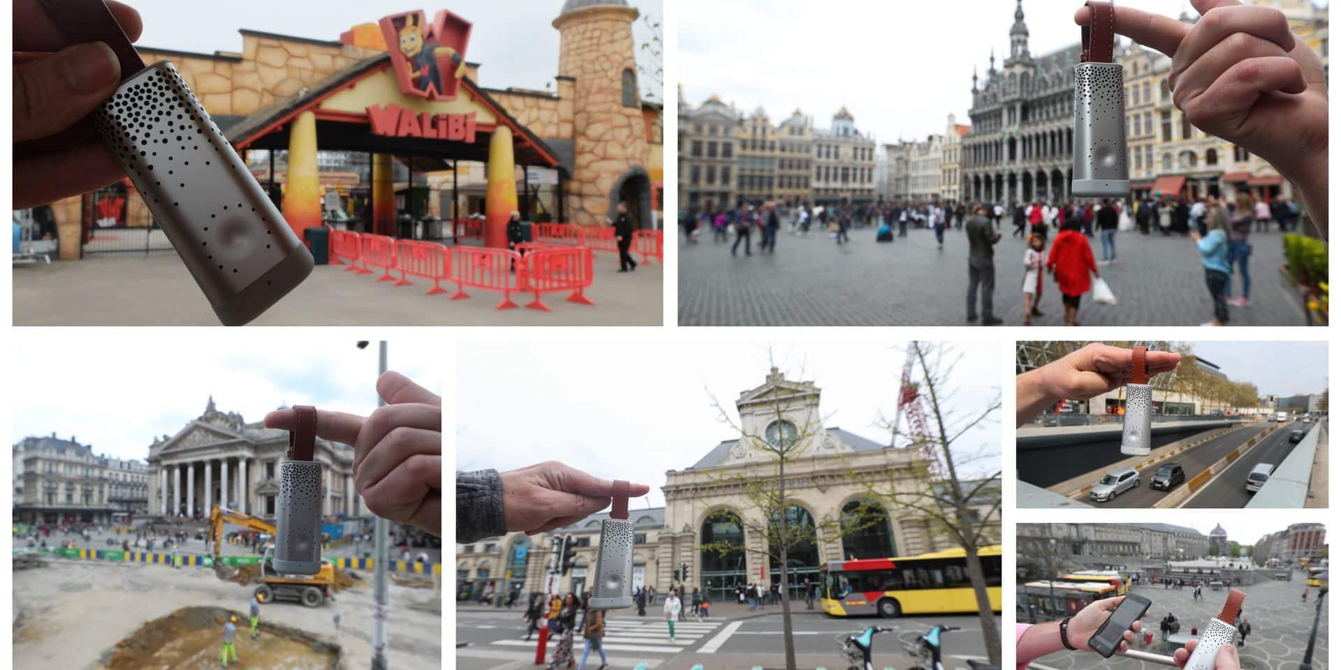 Notre grand test de la qualité de l'air à Bruxelles et en Wallonie: respirez, vous êtes (très)...