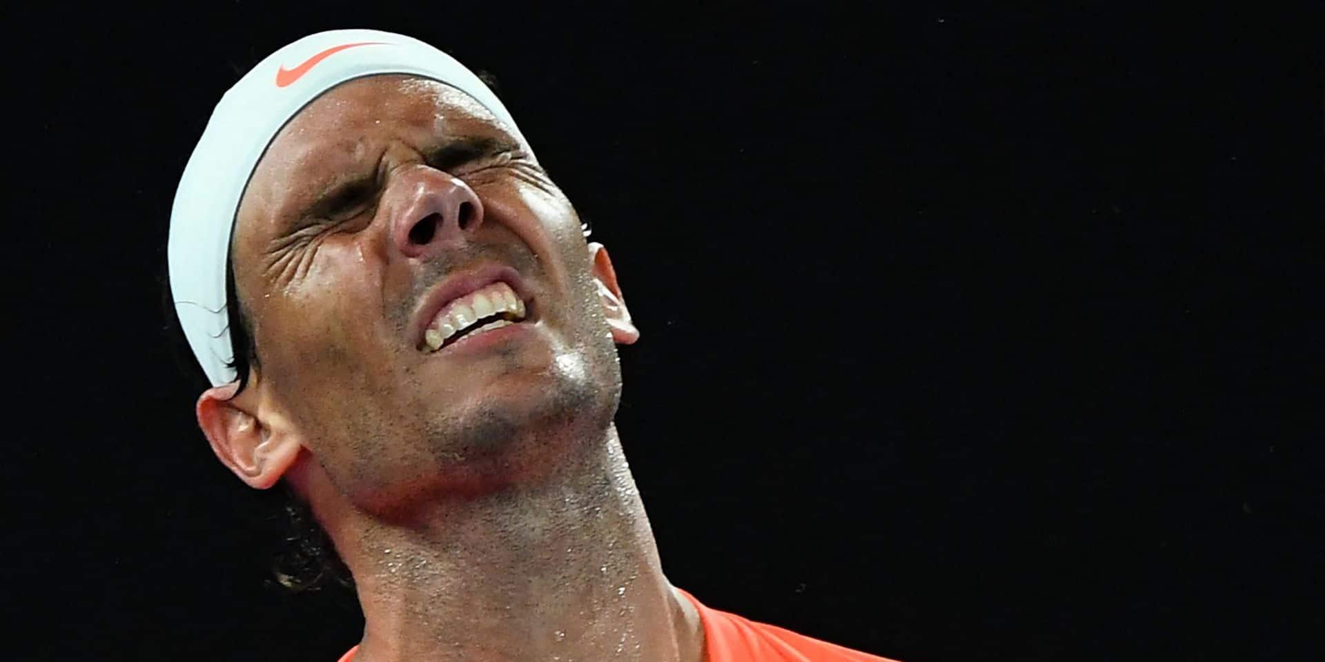 Rafael Nadal, toujours tracassé par son dos, déclare forfait pour le tournoi de Rotterdam