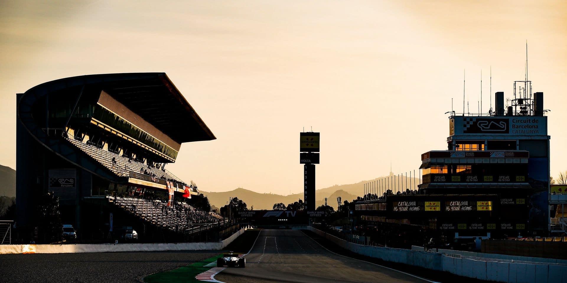 Motorsports: FIA Formula One World Championship 2020, Preseason Testing in Barcelona