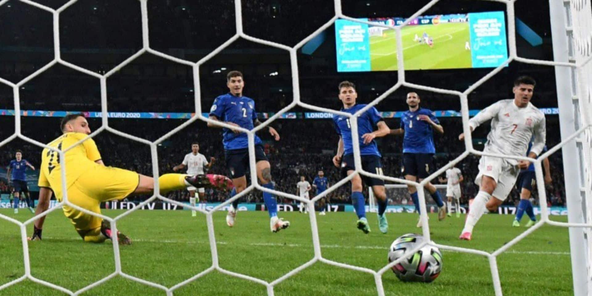 2,7 millions de Belges devant leur télévision pour la finale Italie-Angleterre