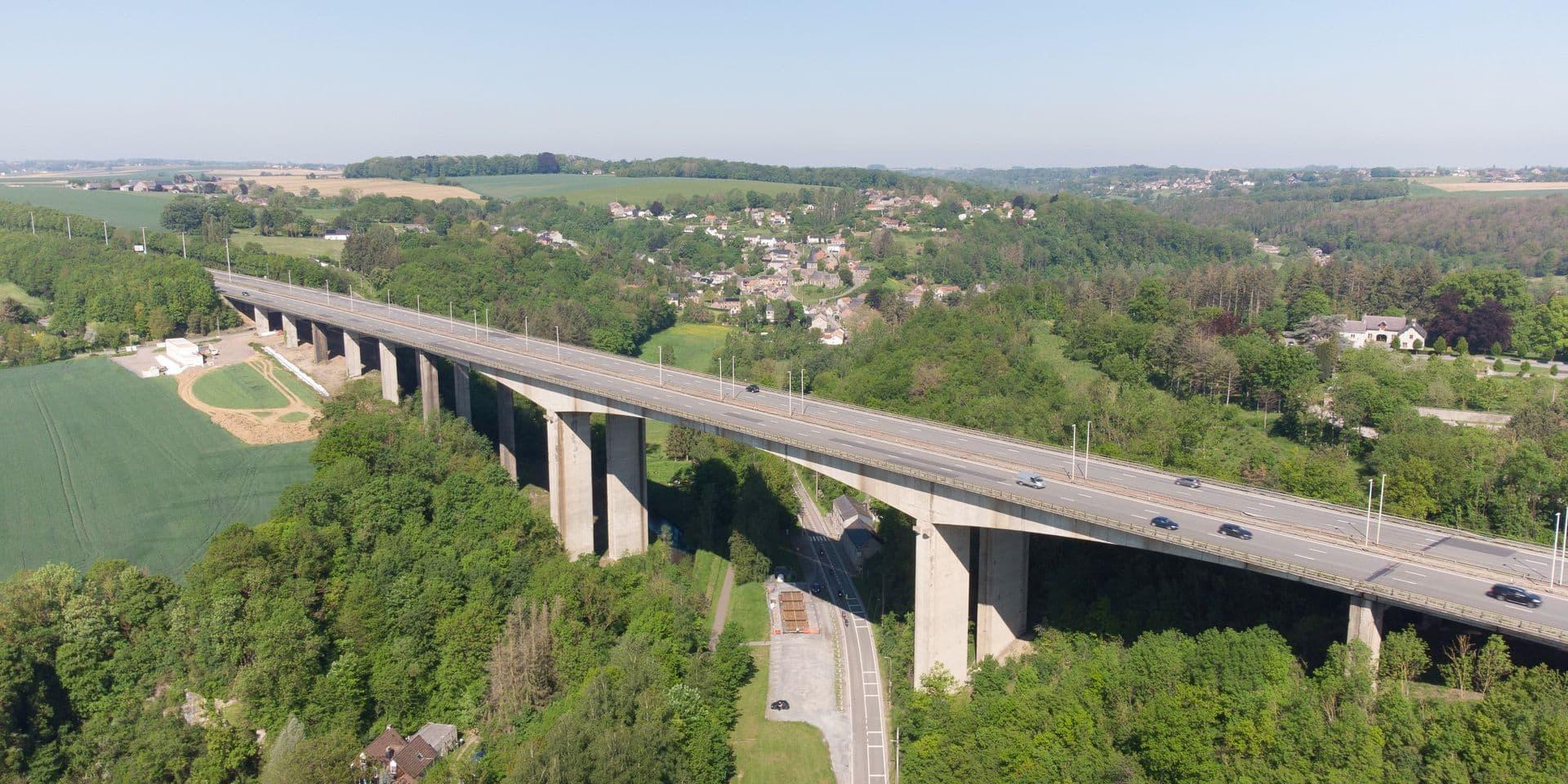 Une réfection complète du viaduc de Huccorgne