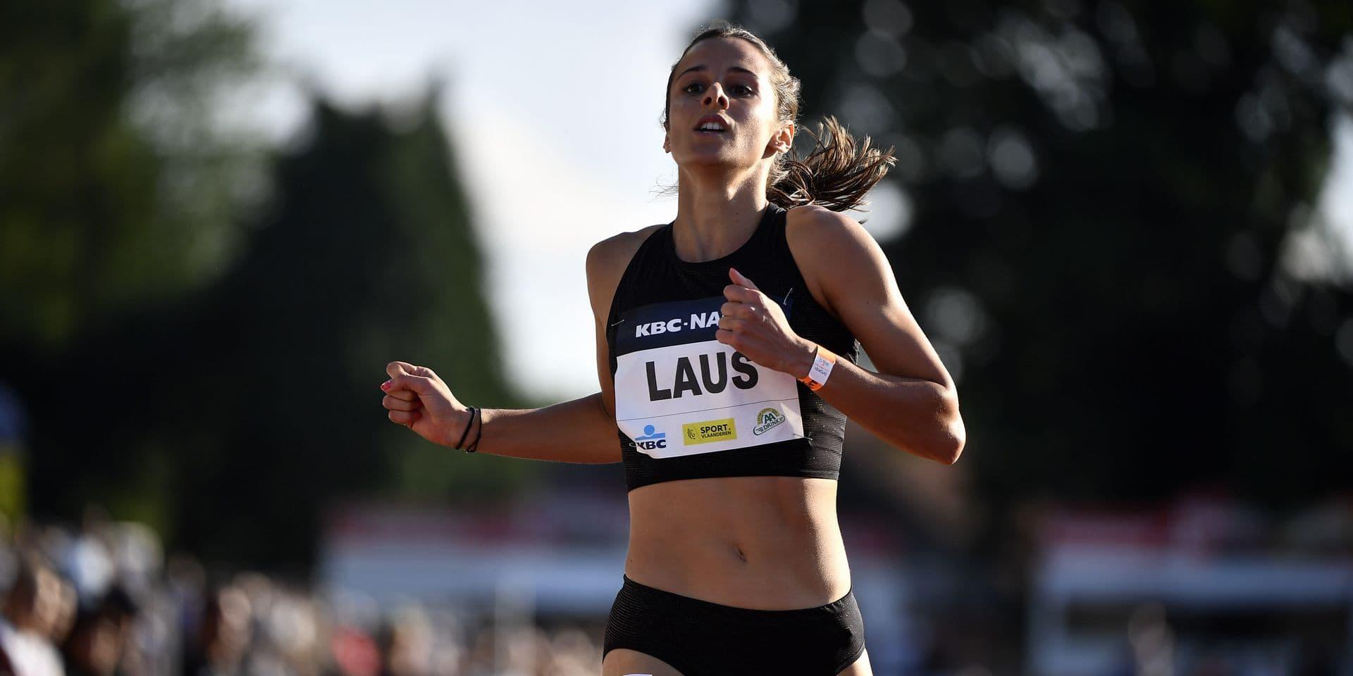 Nuit de l'athlétisme : Camille Laus reprend la compétition avec un record personnel sur 200m à Heusden
