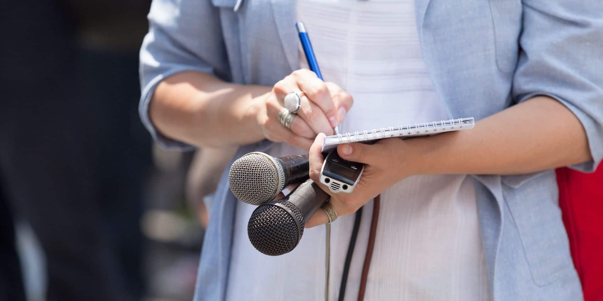 La moitié des journalistes flamands a déjà été victime d'agression
