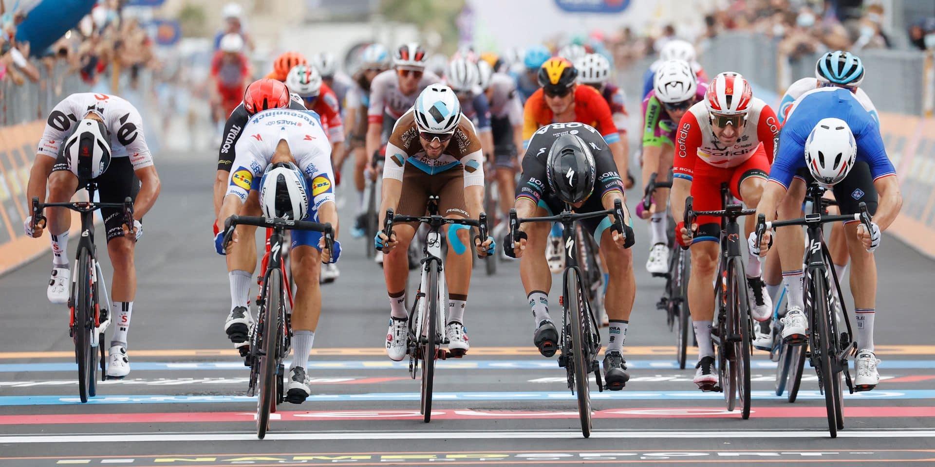 """Arnaud Démare frustre Peter Sagan sur le Giro: """"J'ai la chance avec moi"""""""