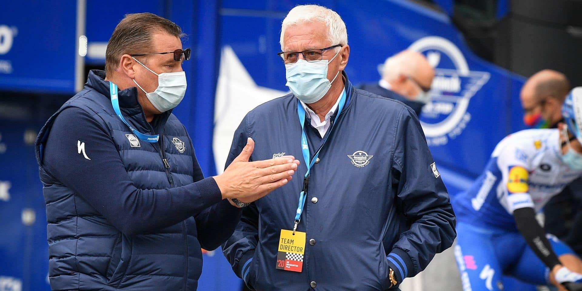 """Patrick Lefevere s'exprime après la sortie du calendrier du Tour de France: """"La combinaison Tour et Jeux semble hors de question pour Evenepoel"""""""