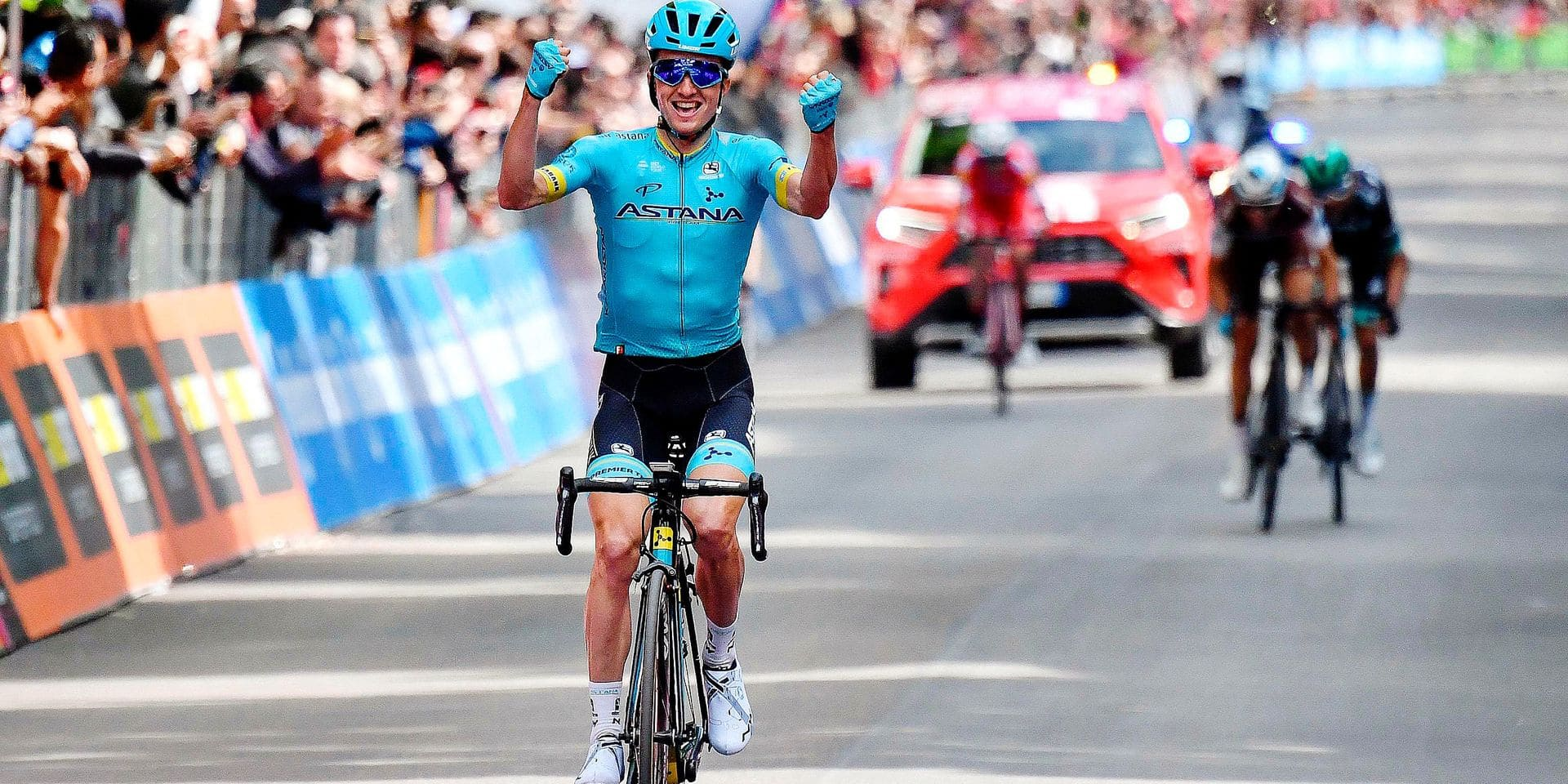 Giro: Bilbao poursuit la moisson d'Astana