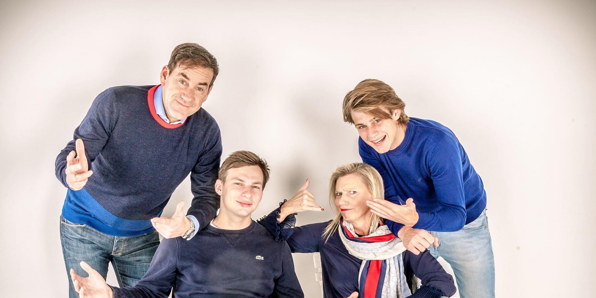 """À la découverte de la famille Bergs, la nouvelle pépite du tennis belge: """"Il a sacrifié une partie de son enfance"""""""