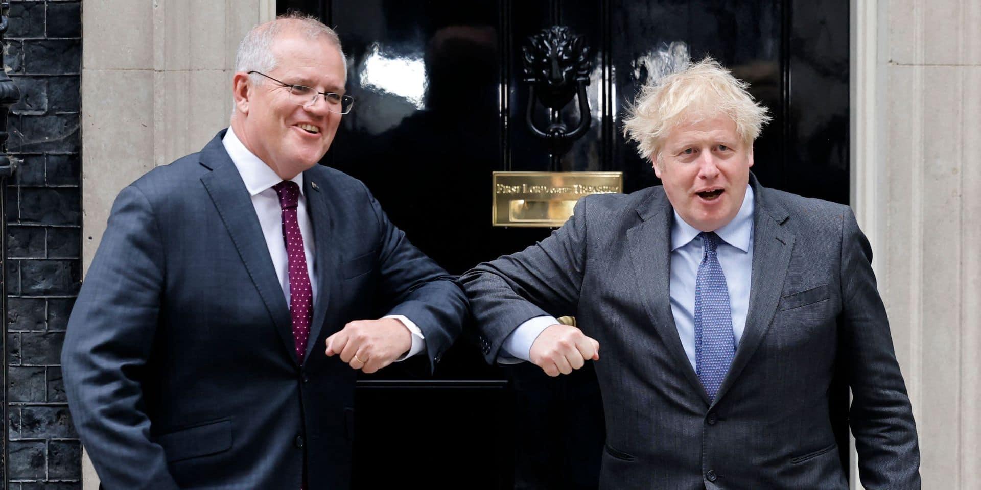 Le Royaume-Uni et l'Australie dégagent un accord de libre-échange, premier post-Brexit