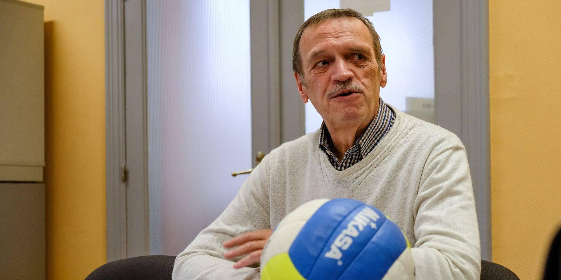 Volley-ball: démission de Daniel Van Daele, président de la fédération francophone