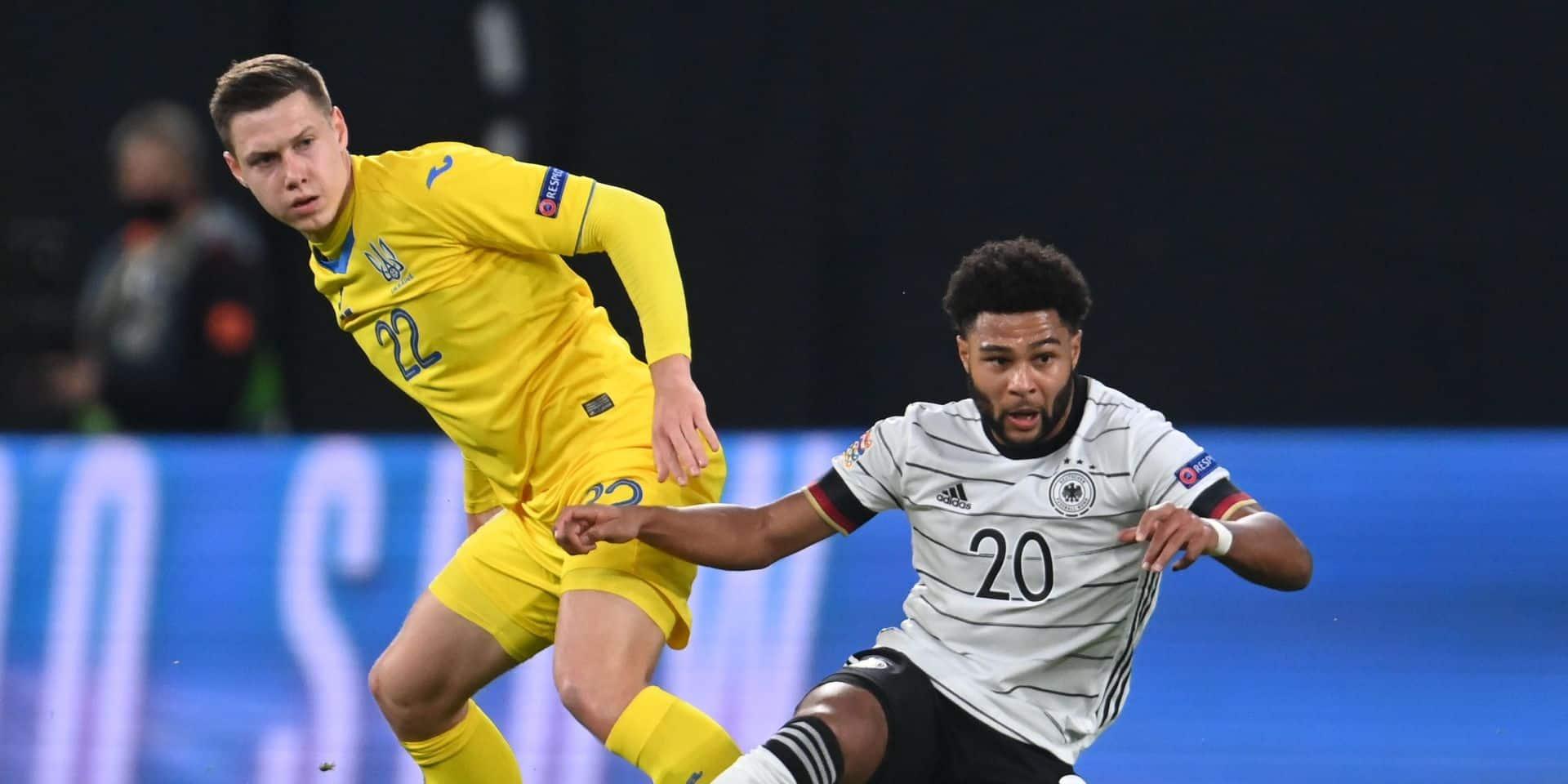 Ligue des Nations: l'Allemagne bat l'Ukraine et retrouve son football