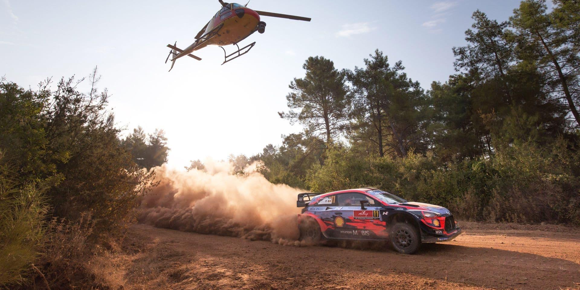 Rallye de Turquie (Après ES10): Neuville crève, Evans passe en tête