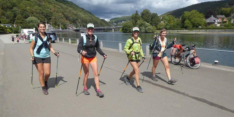 Quatre Nalinnoises marchent 101 km pour la bonne cause, elles racontent