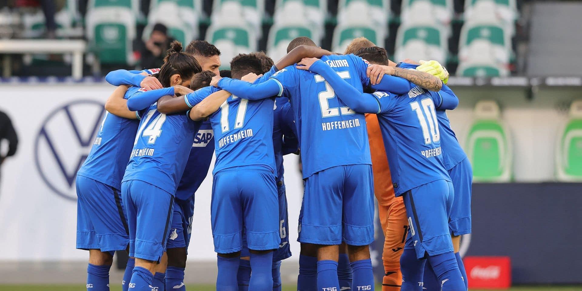 Le TSG Hoffenheim, première équipe de Bundesliga entièrement placée en quarantaine
