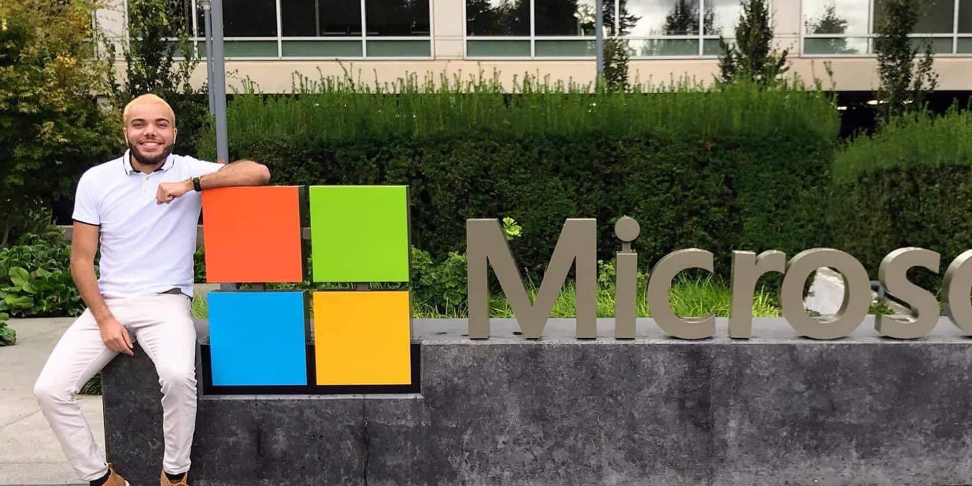 Le Jodoignois Aurélien a réalisé son rêve: travailler chez Microsoft