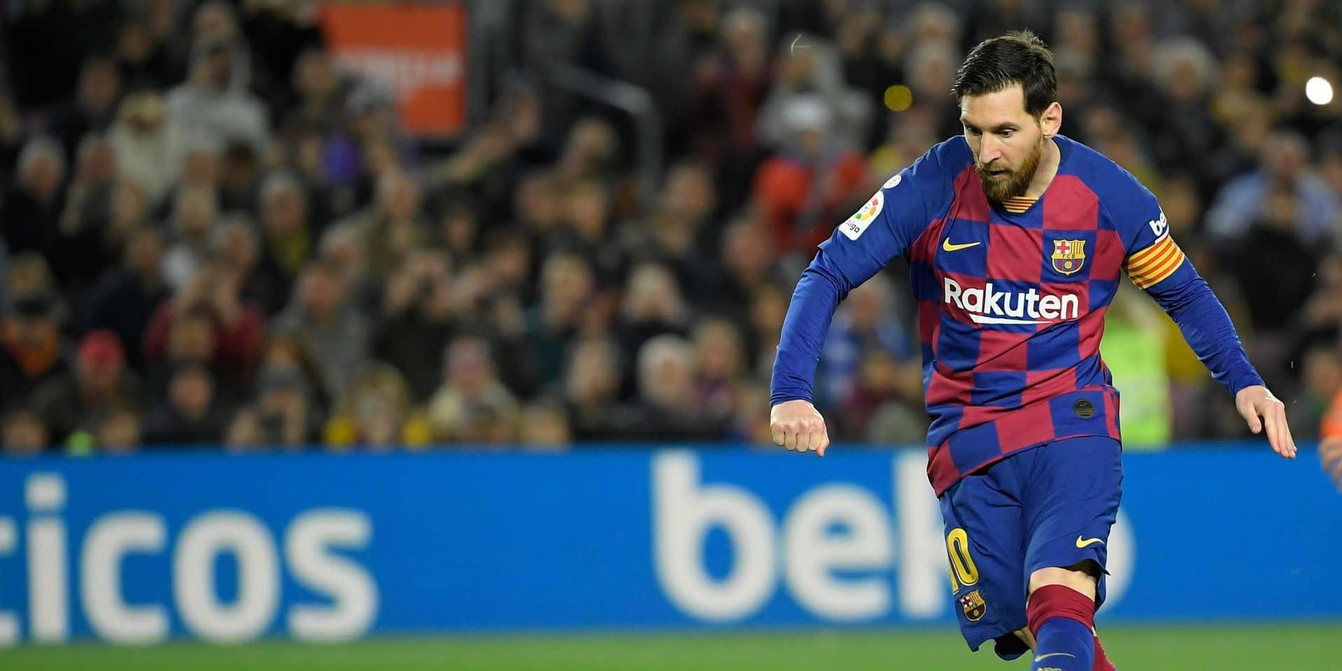 Lionel Messi met fin aux rumeurs, il reste au Barça l'an prochain