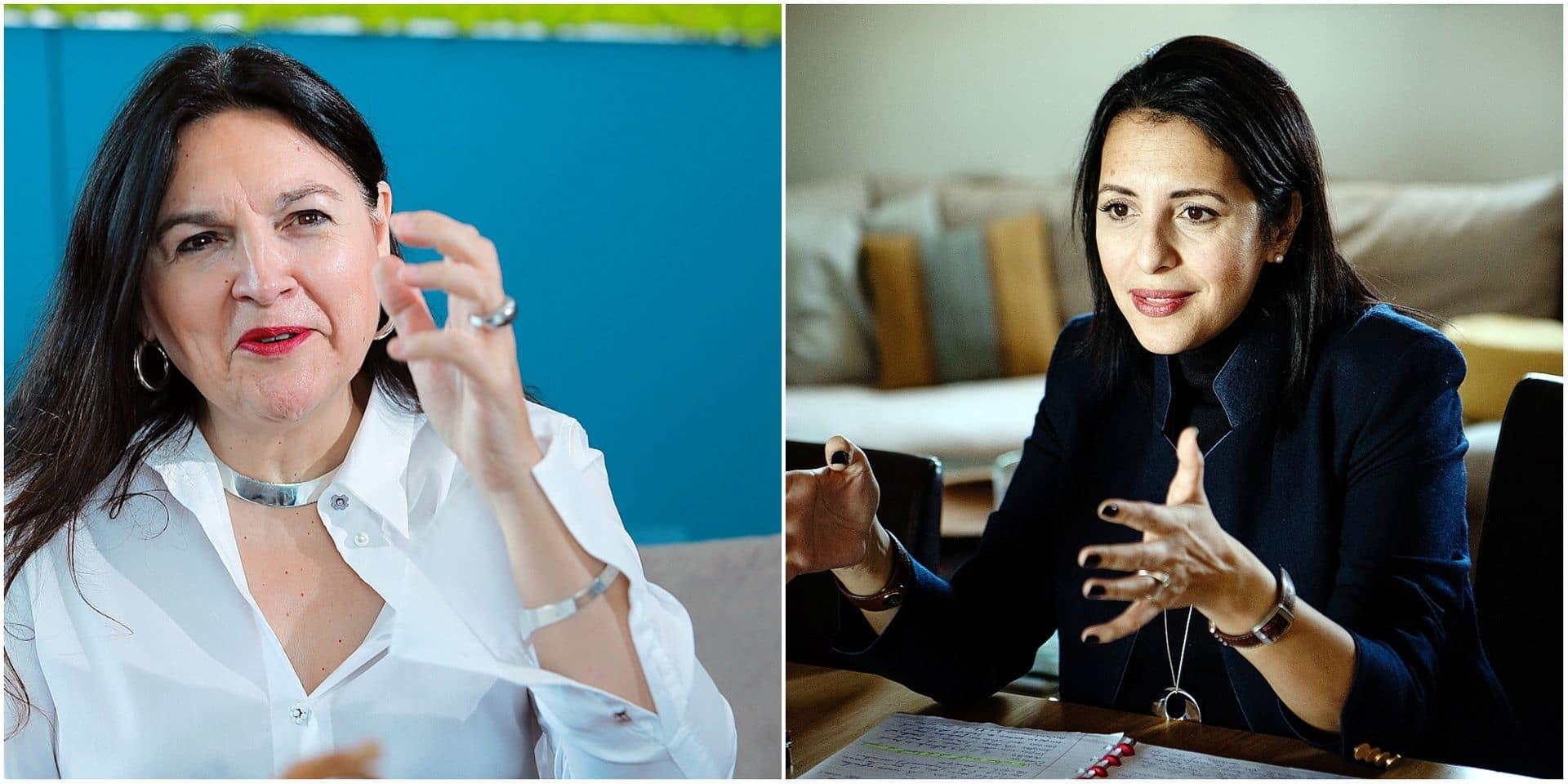 """Nos politiques face à la haine sur les réseaux: Marie-Christine Marghem """"pique si on m'attaque sur mon bras"""", Zakia Khattabi """"pensait avoir une carapace"""""""