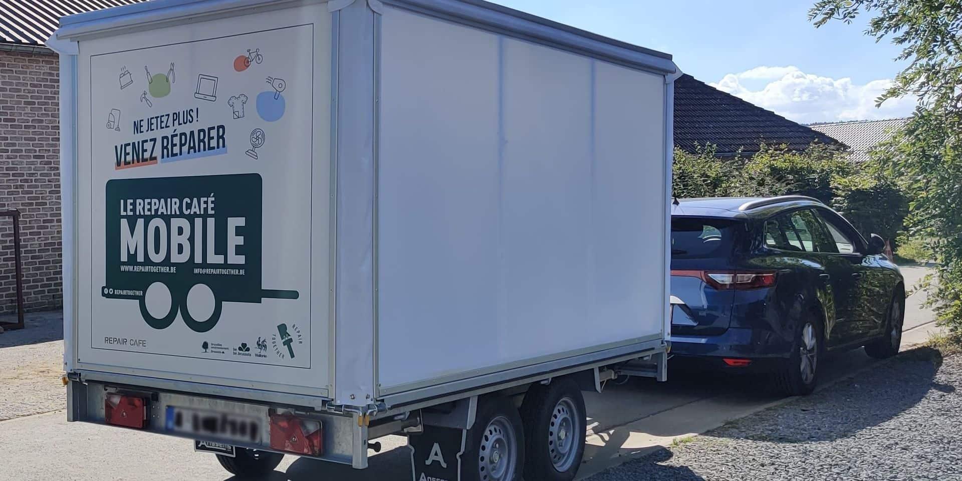 La tournée du repair café mobile fait halte en Wallonie picarde