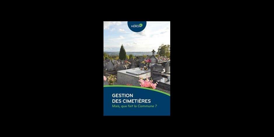 Héron: un entretien général des cimetières