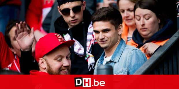 Standard's Razvan Marin is seen at the Jupiler Pro League match between RSC Anderlecht and Standard de Liege, in Brussels, Thursday 10 May 2018, on day eight of the Play-Off 1 of the Belgian soccer championship. BELGA PHOTO JASPER JACOBS