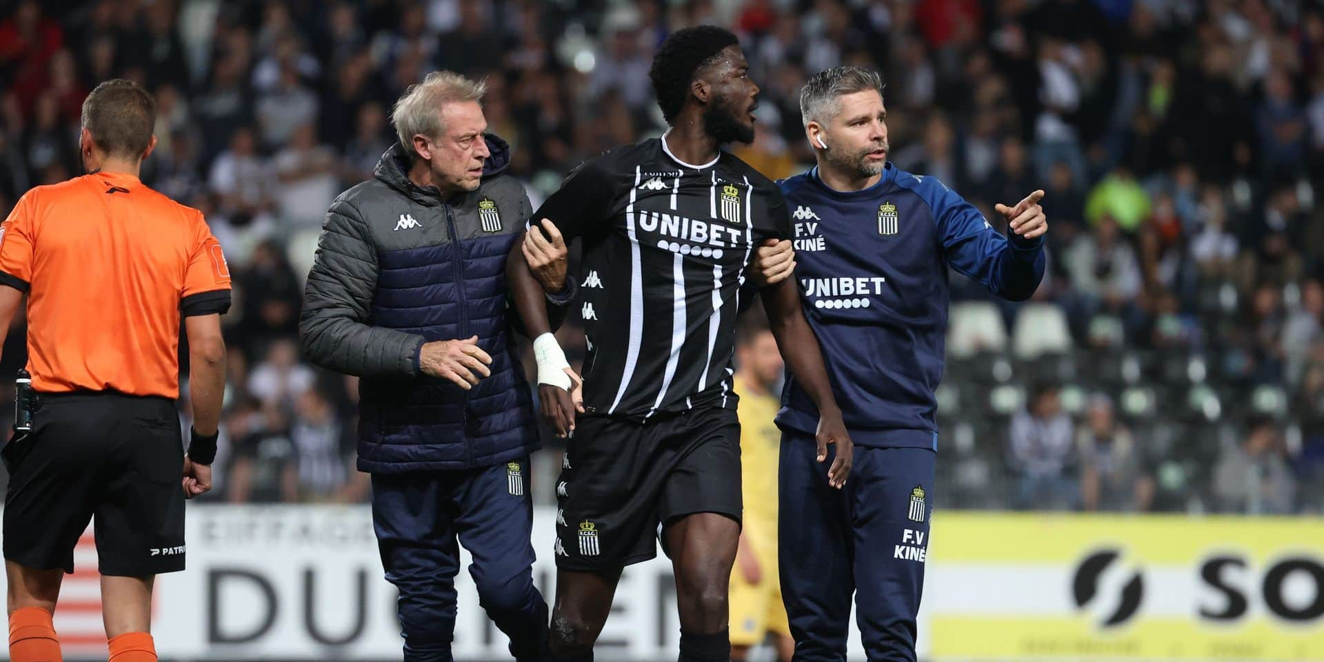 """Charleroi devra faire sans Nicholson contre Malines: """"Le match intervient trop tôt"""""""