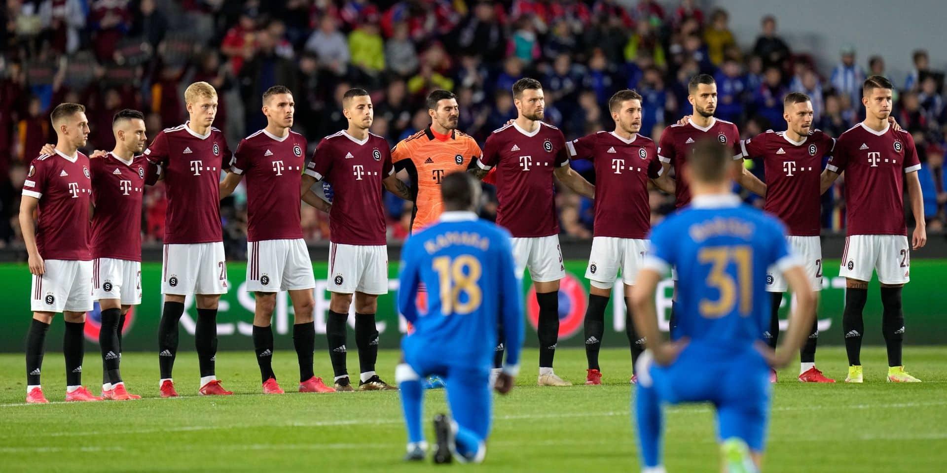 """L'UEFA ouvre une enquête contre le Sparta Prague pour des """"incidents discriminatoires"""""""