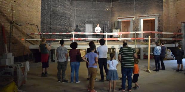 Gembloux: chantier ouvert au Centre Culturel (PHOTOS + VIDEOS) - La DH