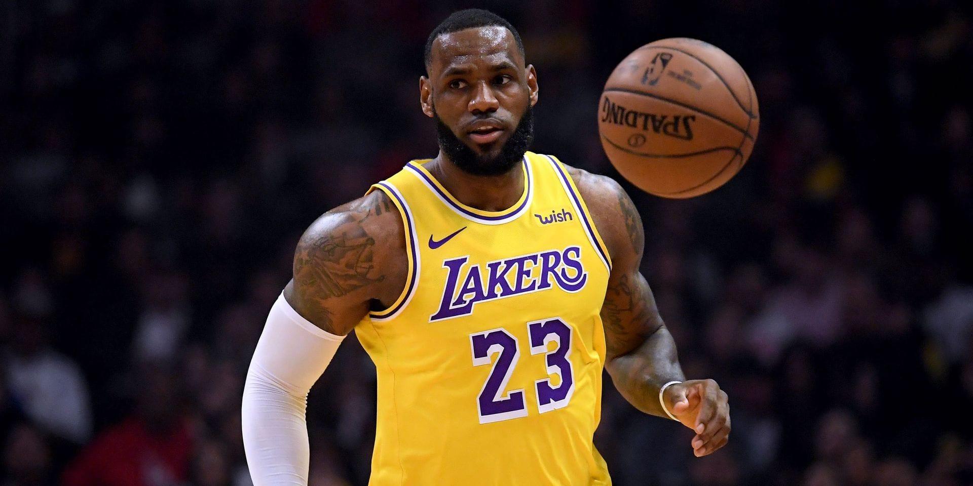 NBA: retour gagnant pour LeBron James avec les Lakers