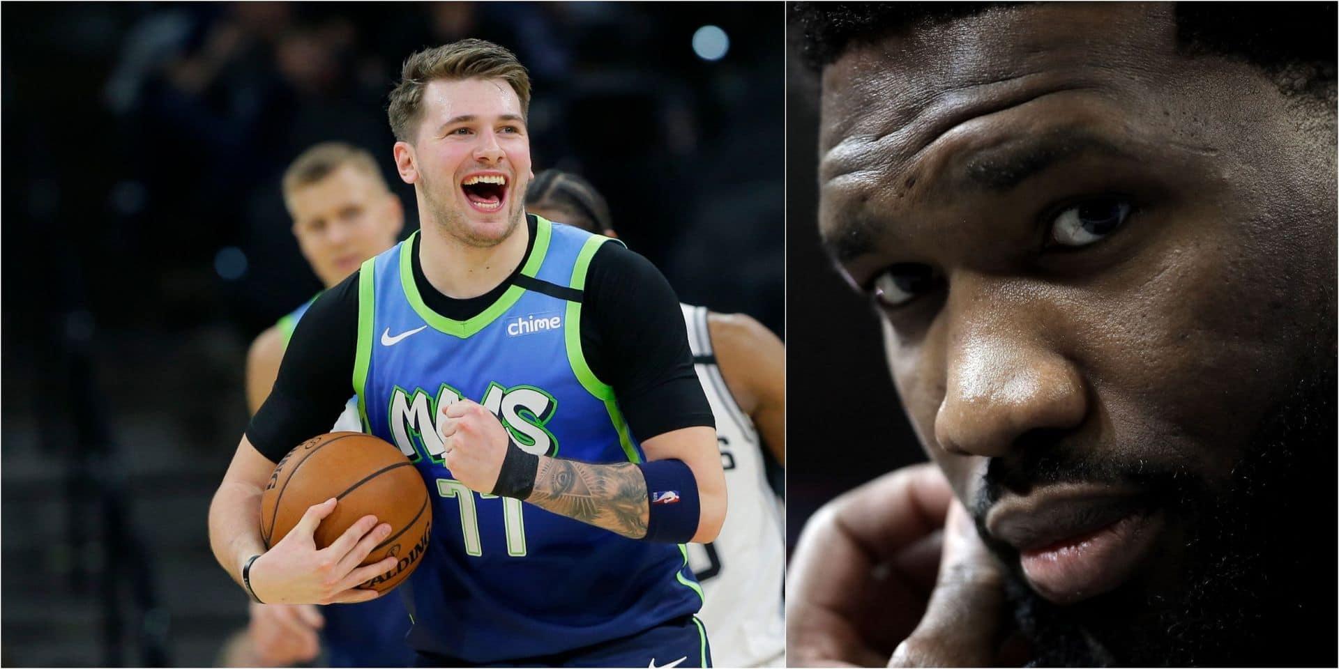 NBA: Doncic un peu plus dans l'histoire des Mavs, Embiid se blesse encore ...