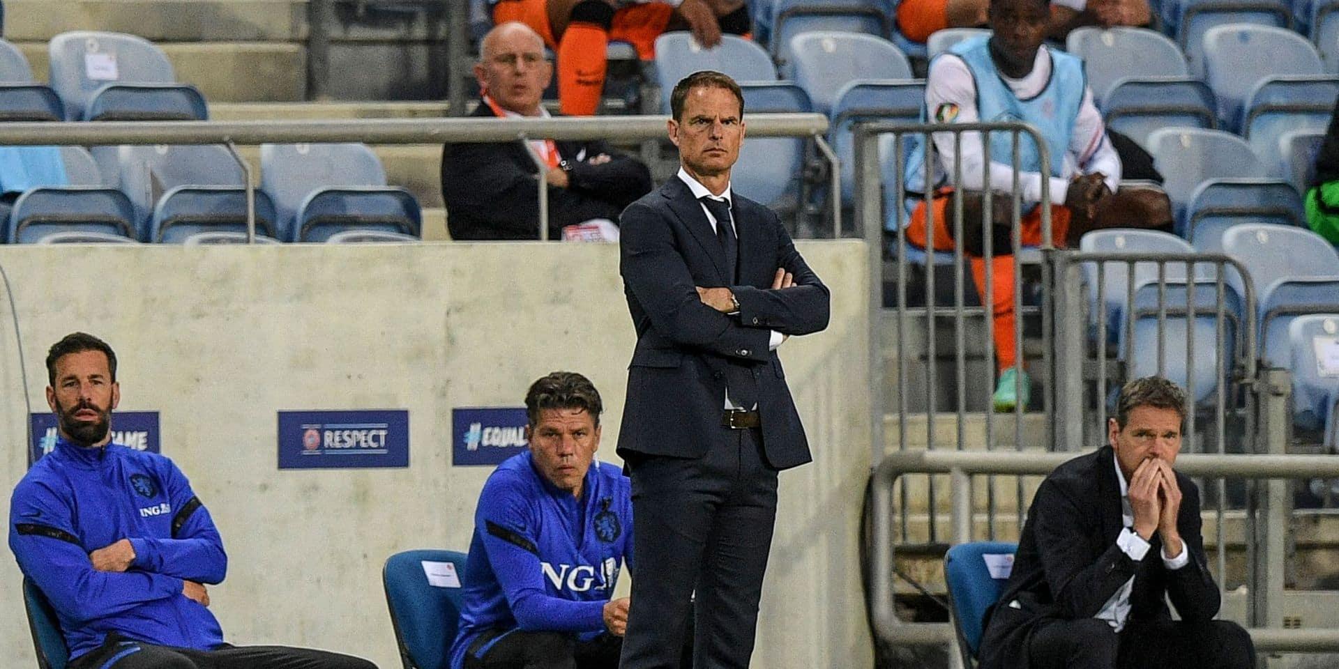 Après la défaite contre la République tchèque, le sélectionneur néerlandais De Boer va discuter avec sa fédération