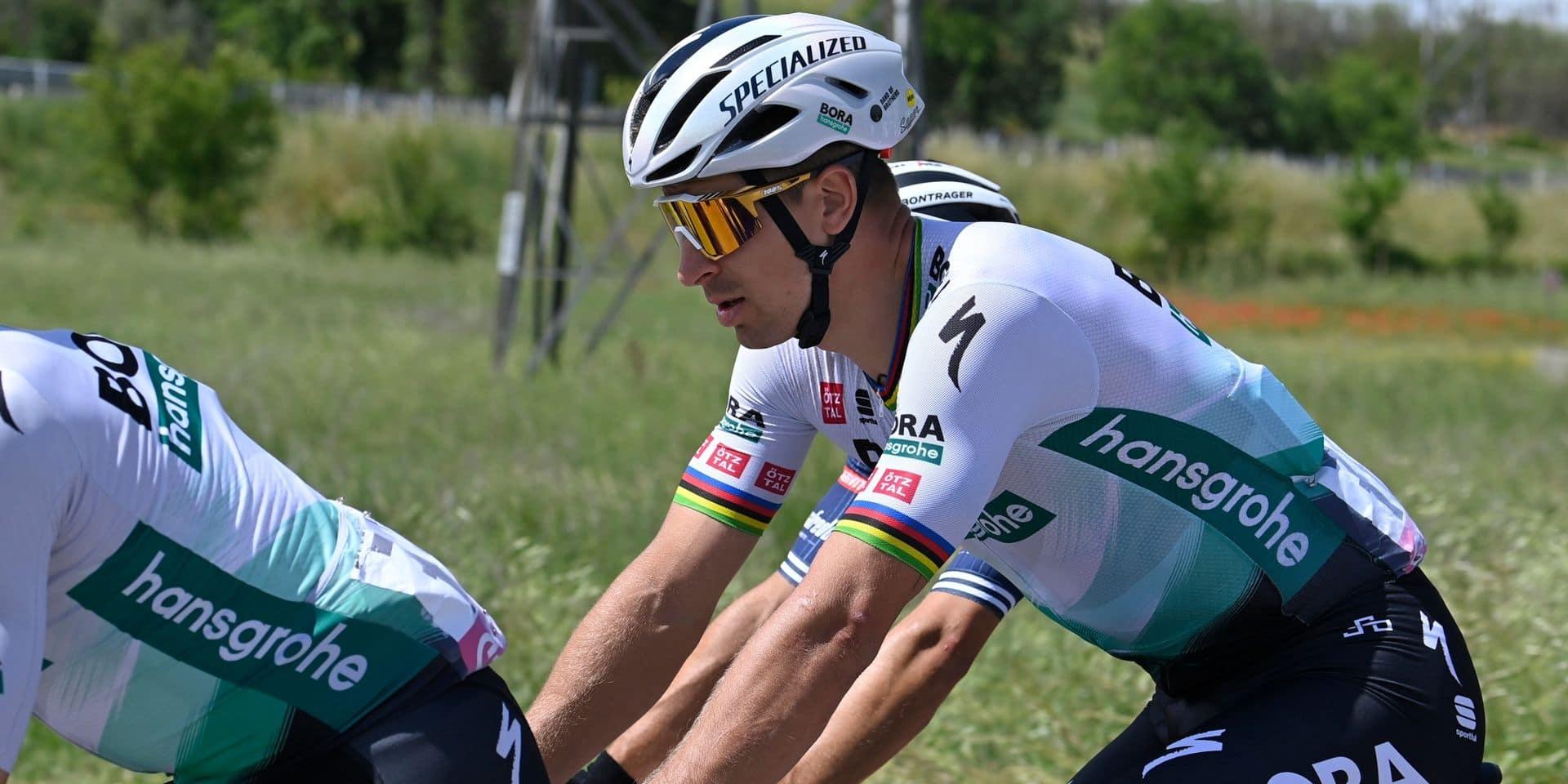 Giro : Sagan remporte la 10e étape au sprint, Evenepoel grappille une seconde à Bernal (VIDEO)