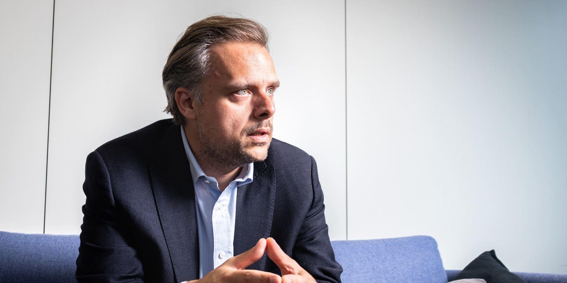 """Philippe De Backer (Open VLD) : """"Nous sommes dans une deuxième vague, c'est clair"""""""