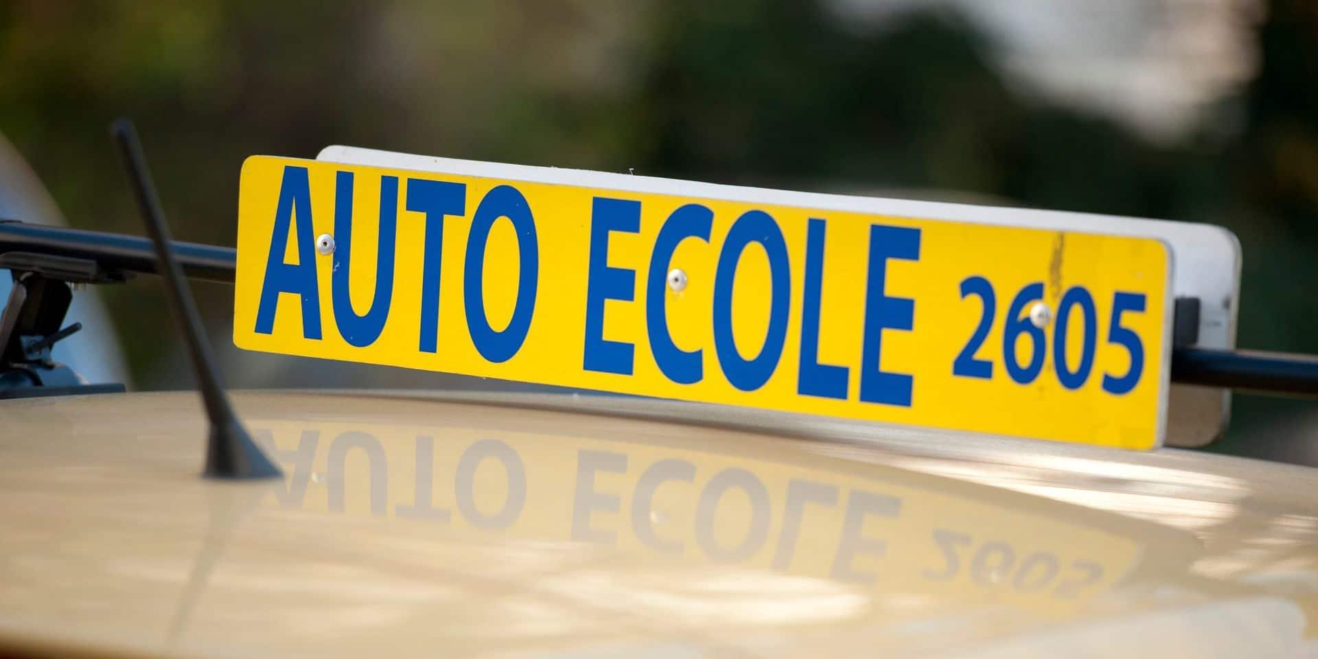 Ecoles de conduite et centres d'examen fermés à Bruxelles jusqu'à une date indéterminée