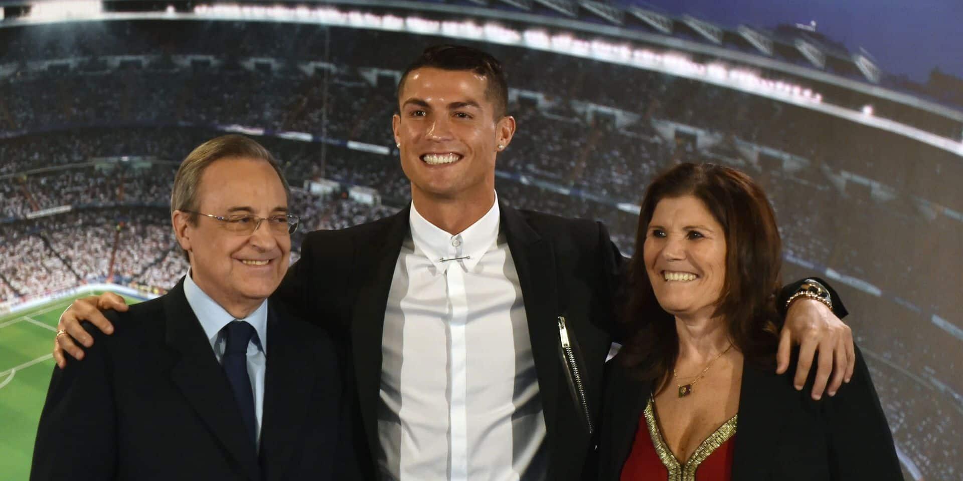La maman de Cristiano Ronaldo victime d'un AVC