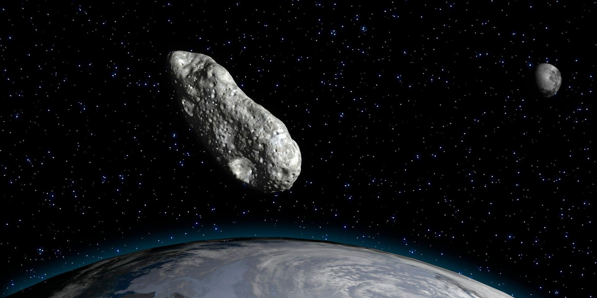 Un astéroïde va frôler la Terre jeudi