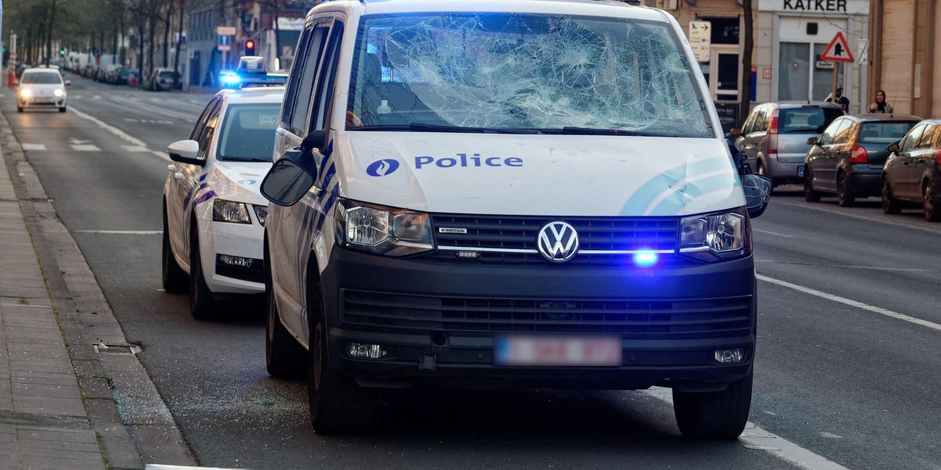 Violences contre des policiers à Anderlecht: de nouvelles images diffusées ! (VIDEO)