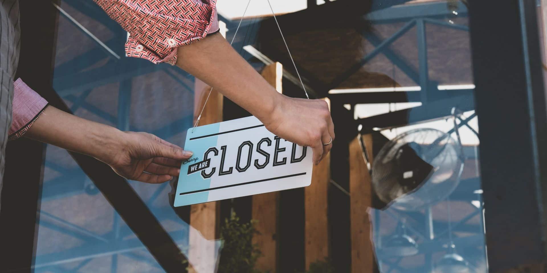 Un quart des entreprises bruxelloises risquent la faillite