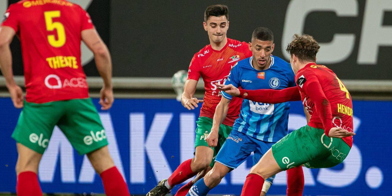 La Gantoise bat Ostende, la lutte pour les playoffs bat son plein - dh.be