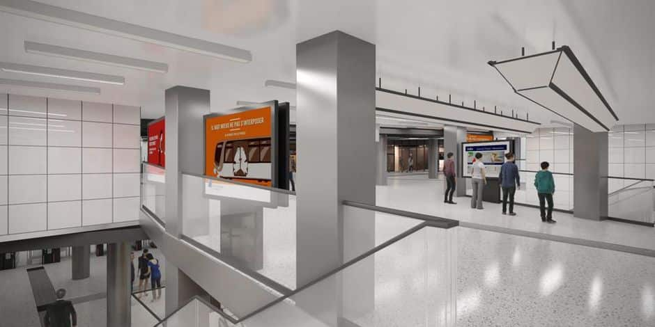 La station Stib de la gare Centrale sera rénovée en 2022
