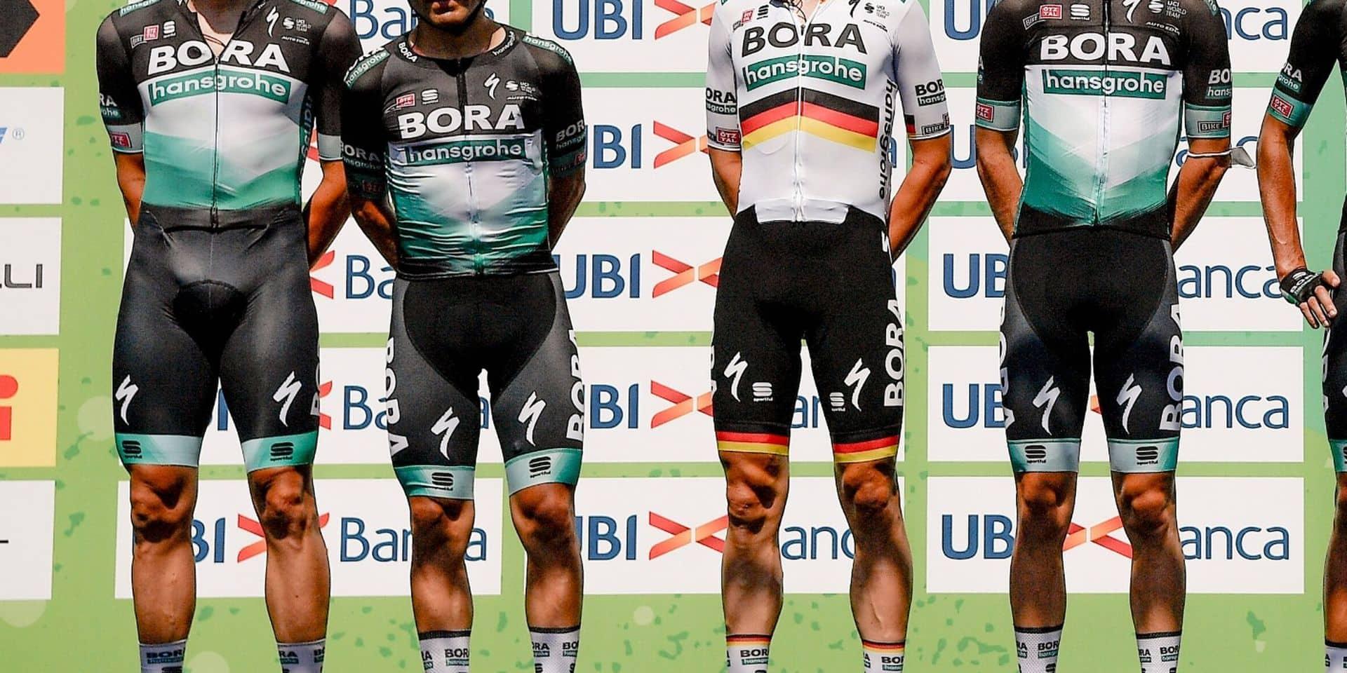 Bretagne Classic: Bora-Hansgrohe ne prend pas le départ après un test positif d'un coureur