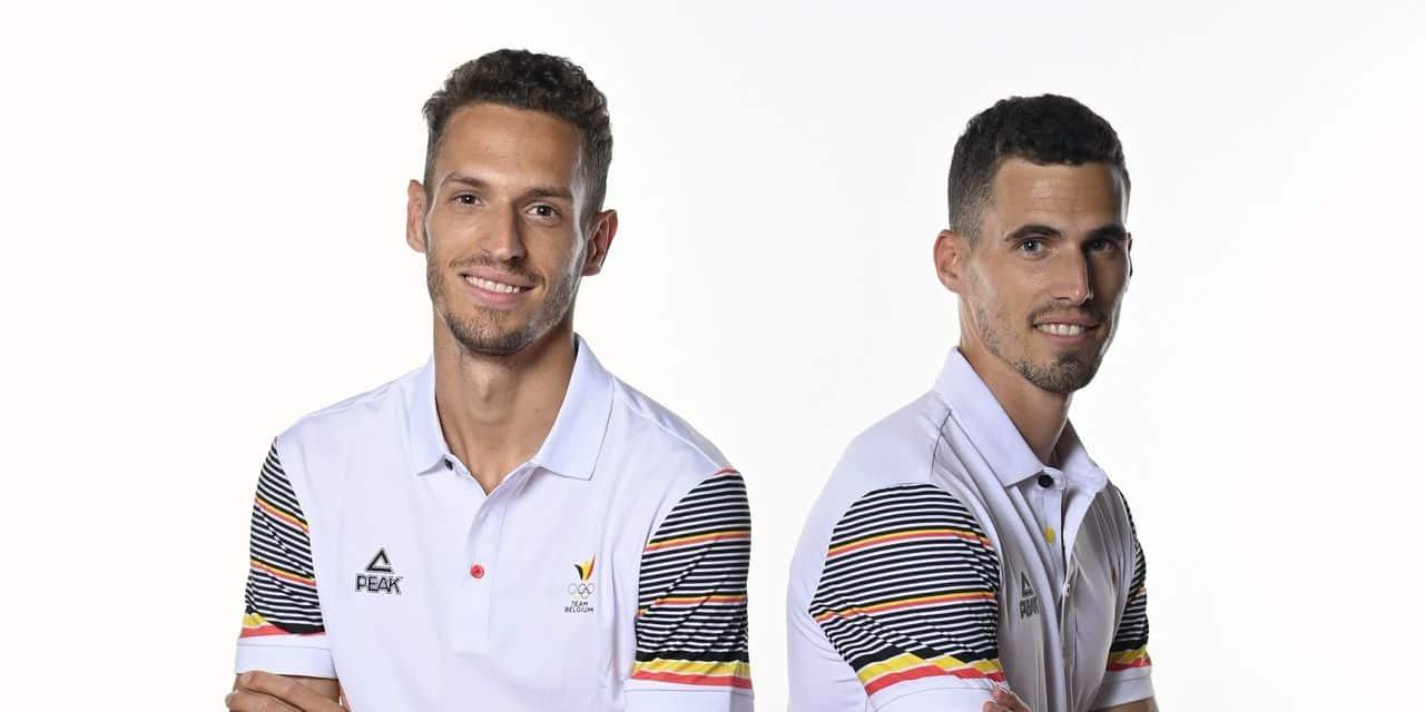 JO 2020: Kevin et Dylan Borlée signent leurs meilleurs temps de la saison avant Tokyo