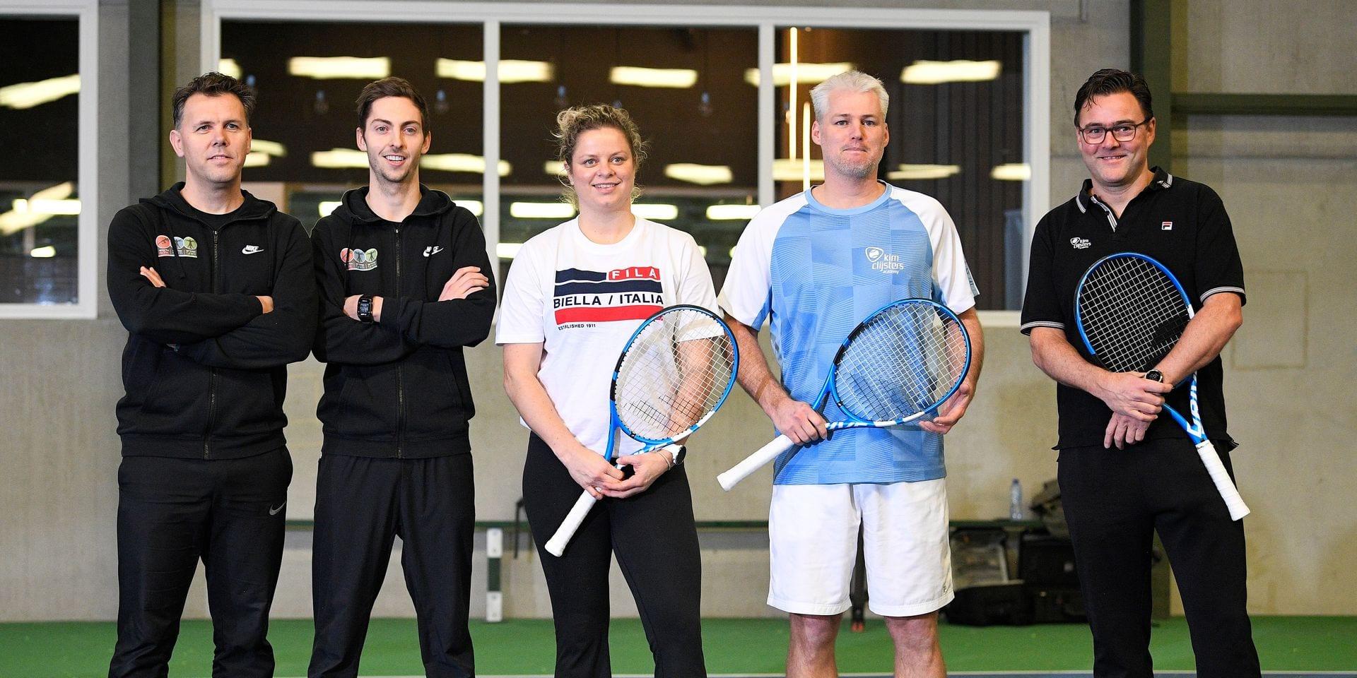 """Kim Clijsters s'est entourée de visages connus pour tenter de revenir à son meilleur niveau: """"Les progrès sont visibles"""""""
