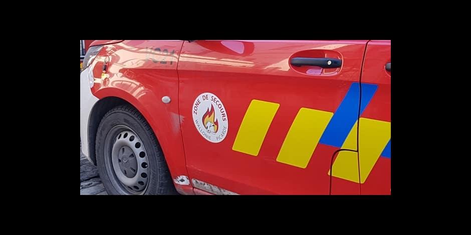 Tournai : incendie dans une maison au Vert Bocage, une maman et sa fille hospitalisées