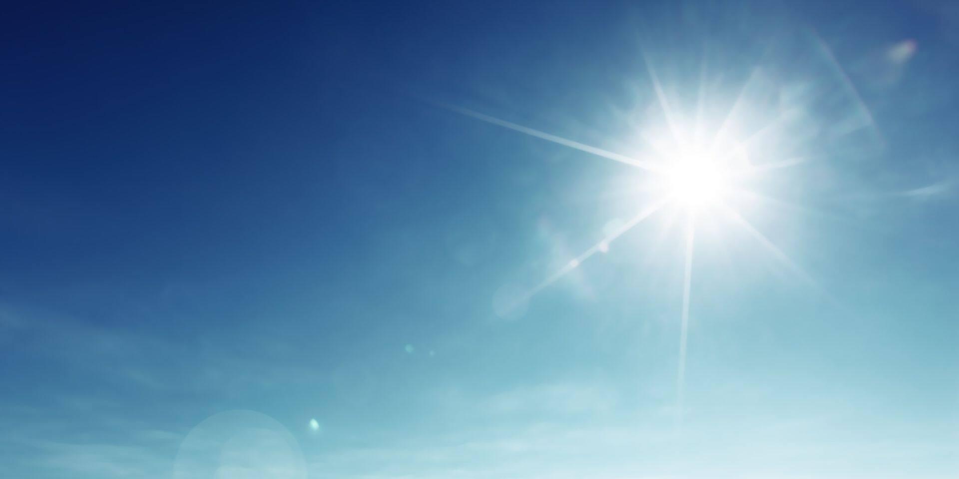 Encore une journée estivale ce lundi: jusqu'à 32 degrés dans le pays !