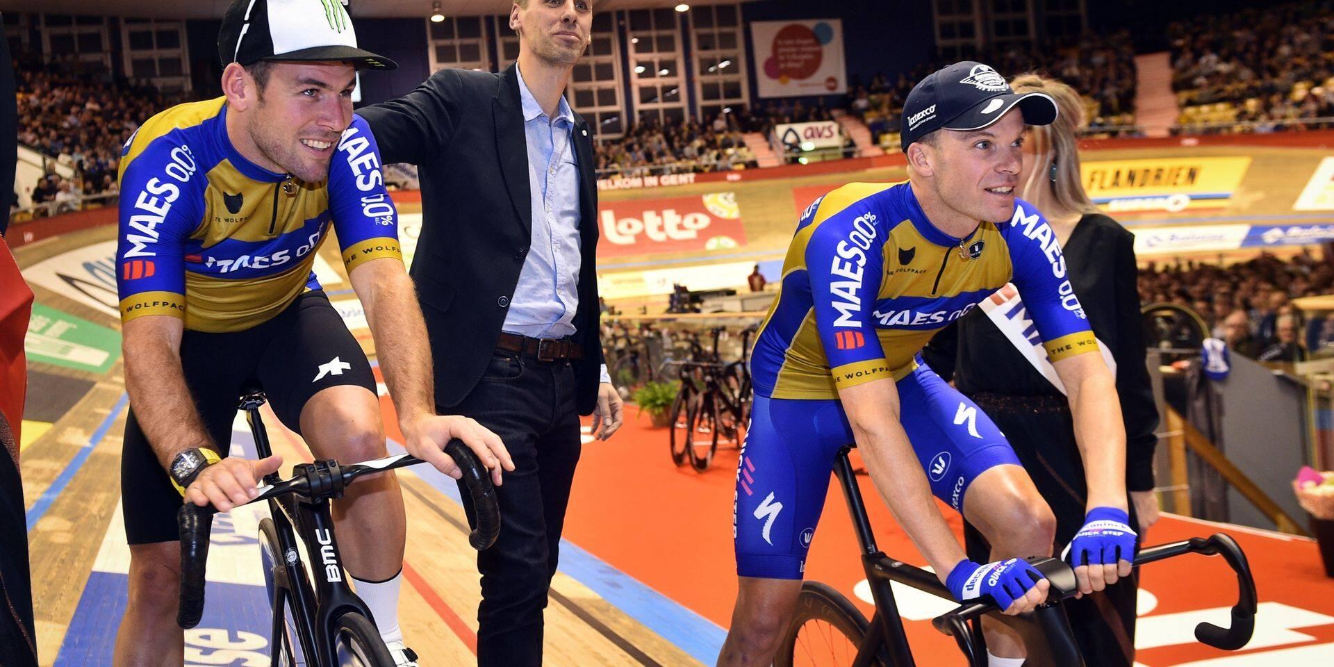 Six Jours de Gand: lourde chute pour Mark Cavendish lors de la première soirée