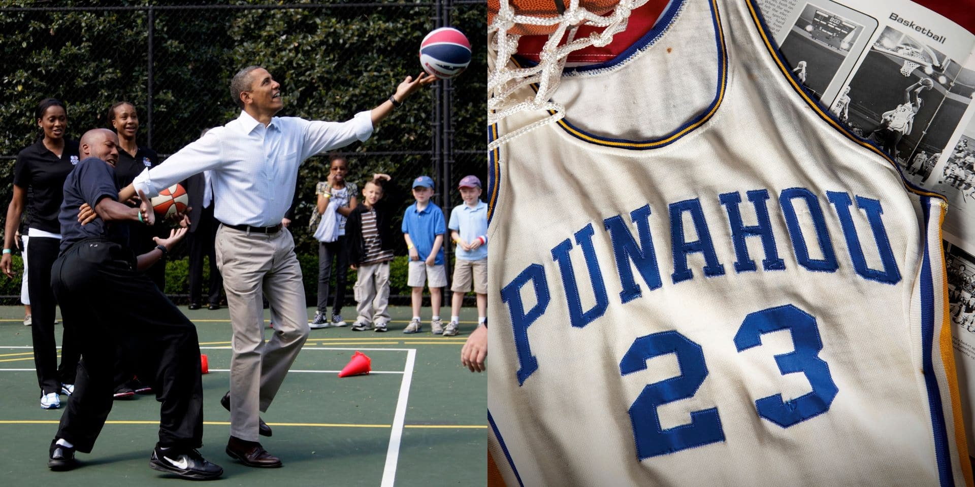 Un maillot de basket du secondaire de Barack Obama adjugé pour...