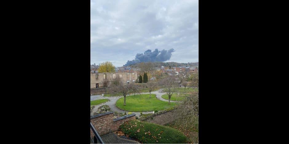 Rochefort : les anciens établissements Gillet en feu !