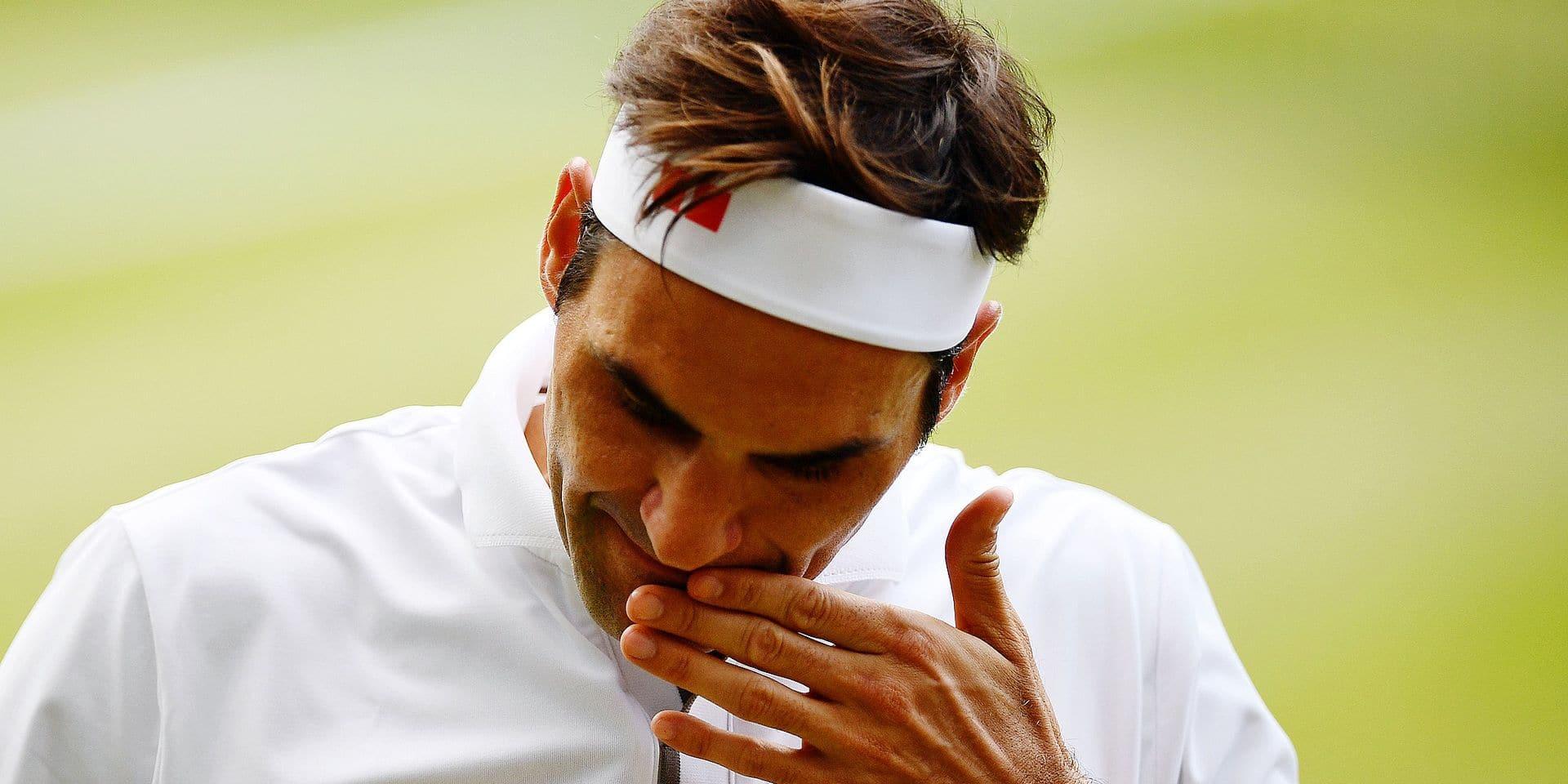 """Federer: """"Quelle occasion manquée, je ne peux pas y croire…"""""""