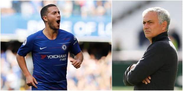 """José Mourinho encense Hazard: """"Quand il est le meilleur joueur de Premier League, Chelsea est champion"""" - La DH"""